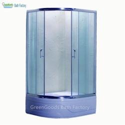 Het eenvoudige AcrylCompartiment van de Badkamers van de Zaal van de Douche van het Glas