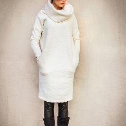2019 Sweater van de Kraag van de Col van de Kleding van de Vacht van de Herfst en van de Winter de Warme Vrouwelijke