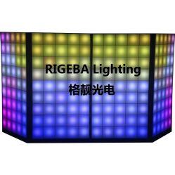 ريجيبا ديسكو الطرف المرحلة الساخنة البيع لوحة دي جي الرقمية LED واجهات مقصورة للأحداث