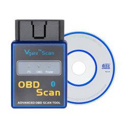 A++Mini de la qualité de l'ORME 327 Bluetooth avec Pici8F25K80 Puce numérisation Vgate OBD2 / Obdii ELM327 scanneur de code Bluetooth V1.5 Livraison gratuite