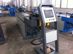 Tube hydraulique à haut rendement CNC Bender, brouette tuyau CNC plieuse automatique complet pour le cuivre, acier inoxydable, aluminium, acier au carbone, d'alliage
