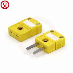 Miniatura de Pino do Conector do termopar tipo K