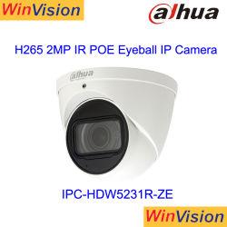Dahua Smart Dome PoE IP 60fps 1080p HD 카메라 IPC - Hdw5231r-Ze