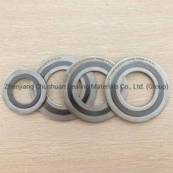 304/316L/Graphite/PTFE/Metallic verzegelende Pakkingen/de Spiraalvormige Pakkingen van de Wond voor Pijp