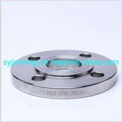 미터 공급자 산업 관 접합기 고리는 위조 6 구멍 DIN 탄소 강철 플레이트 플랜지를 위조했다