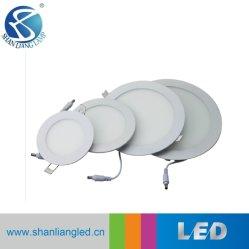 إضاءة LED للوحة LED ذات السقف المستدير مع مواد CE/RoHS بقوة 6 واط