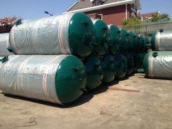 1000 لتر، أفضل بيع لتخزين الهواء المضغوط من الفولاذ الكربوني الرأسي خزانات بضاغط الهواء طراز ASME Cetificate
