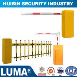 Estacionamento segurança barreira com leitor de placa de sistema