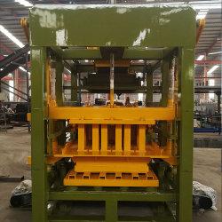 O Qt4-25 construção hidráulicos e material de construção cimento máquina para fazer blocos ocos