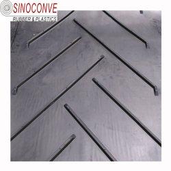 Жаропрочные стали шнур Ep резиновые ленты конвейера нейлон холст Шеврон резиновые ленты транспортера