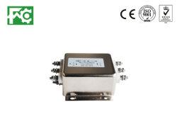 فلتر الطاقة الكهربائية IEC EMI EMC مع حامل المنصهرات AC فلتر تشويش خط EMI المقبس