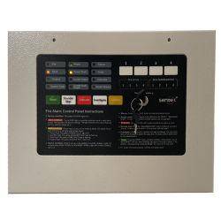 Panneau de commande d'alarme incendie conventionnelle du système d'alarme