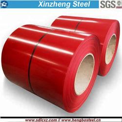 0,14mm bis 0,8mm Farbe vorlackierte Stahlspule für Dachblech