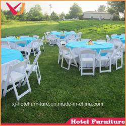 La resina/Plástico silla plegable para jardín y piscina/playa/bodas/tienda/hotel/restaurante/banquete
