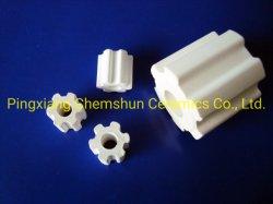 Alumina Ceramische Ring Fluter als Materiaal van de Steun van de Katalysator