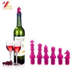 Bouteille de vin de silicone personnalisé bon marché bouchon/bouchon en caoutchouc