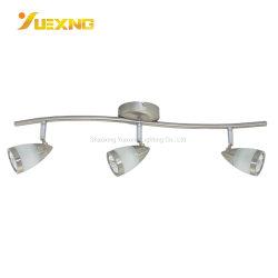 La Chine usine Cheap faible MOQ Spotlight GU10 LED spot ampoule de feu de suivi des éclairages commerciale moderne lampe cristal Spot du luminaire