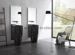 Ванная комната Kingkonree современной раунда камняотдельностоящиерадиатора процессора