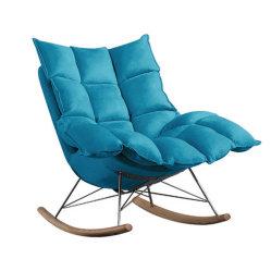썰매 기초를 가진 새로운 디자인된 직물 부드러움 흔드는 그네 의자