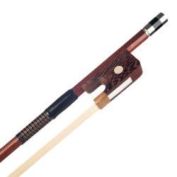 Lle stringhe orchestrali del 4/4 della doppia spigola del Brazilwood degli archi di stile degli archi del crine dell'arco dei capelli grande di punto francese dell'equilibrio
