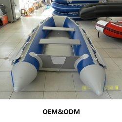 10 aufblasbares Sport-Boot FT-PVC/Hypalon mit Aluminium-/hölzernem/Luft-Matten-Fußboden