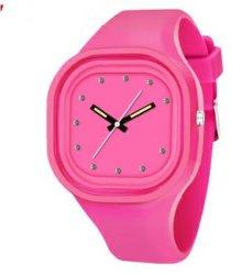 Populair Design Silicone Jelly Watch Silicone Polshorloges, Kleurrijke Horloges (Dc-449)