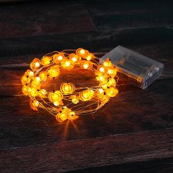 소형 호박 모양 LED 장식적인 빛 (26-1F1720)