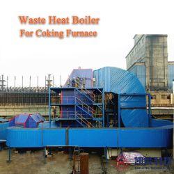 Rauchgas-Abhitzeverwertungs-Dampf-Erzeugungs-Abgas-Dampfkessel für 500000~2000000 Tonnen Ofen bekorkend