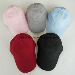 La conception de votre propre personnalisé à armure sergé de coton lavé Chino sports papa Hat Casquette de baseball