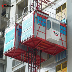 Soem-erhältliche Aufbau-Aufzug-/Building-Hebevorrichtung/Aufzug-Hebevorrichtung/Zahnstangentrieb-Höhenruder