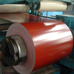 China Proveedor Pre hoja de metal revestido de 0,4 mm de acero con recubrimiento de zinc