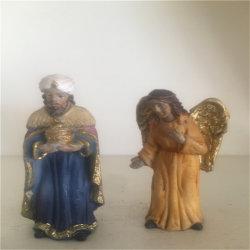 Navidad Smoxi Atr artesanía santo religioso figurita la decoración del hogar regalos estable Polyresin Conjunto de la natividad