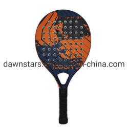 Racchetta di tennis di superficie della spiaggia di memoria di EVA della fibra di vetro & del carbonio con spessore di 2mm