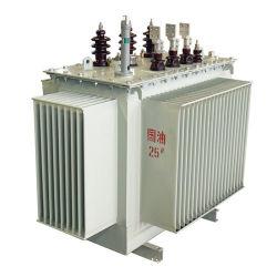 6 كيلو فولت/10 كيلو فولت/12 كيلو فولت/33 كيلو فولت/35 كيلو فولت من ثلاثي الأطوار لتوزيع المحولات المغطسة في الزيت مع ISO9001