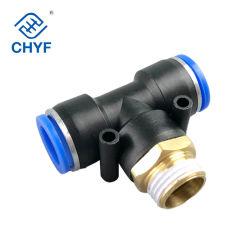 Pb accesorios hidráulicos macho conector neumático tubo para el sistema de tuberías de la serie Pb12
