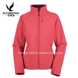 As mulheres/ fêmea/Senhora desporto exterior à prova Softshell Casacos casaco quente