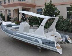 Liya 19pés barco inflável Barco Hypalon Yacht Club