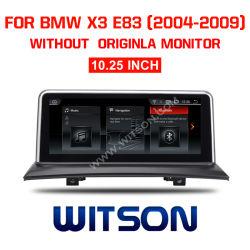 """BMW Witson 10.25 """" grand écran DVD Voiture Android 7.1 pour BMW X3 E83 (2004-2009)"""