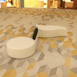 [ي812] [موسكل نوتأيشن] أصيص صنع وفقا لطلب الزّبون كرسي تثبيت, يجعل [فيبرغلسّ] أثاث لازم خارجيّة تصميم حديثة رفاهيّة خارجيّة فناء كرسي تثبيت