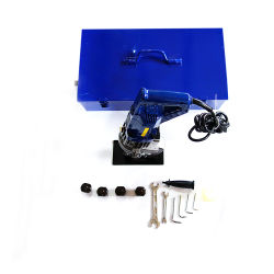 Orificio de la placa de metal hidráulico portátil perforadora con 6mm de espesor de perforación