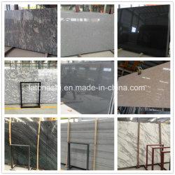 Polido Preto/Branco/em mármore/Granito/Travertinos/calcário/Quartz/Onyx/Tombstone Lajes de pedra para cortar a tamanho, Bancadas de trabalho, pavimentação, piso, cozinha topo