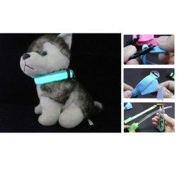 Chat durables Eclairage de nuit Collier Collier pour chien de LED en nylon