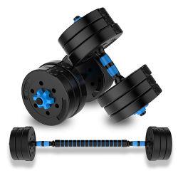 Ajustable ecológica pesa Gym Fitness Barbell 10kg 15kg 20kg 30kg 40kg conjunto pesa 50 kgs.