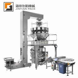 Automatische Granule Salz Reis Bohnen Zucker Popcorn Nüsse Plastiktüte Verpackungsmaschine Vertikale Sanck Lebensmittelabfüllung Versiegelung Verpackungsmaschine