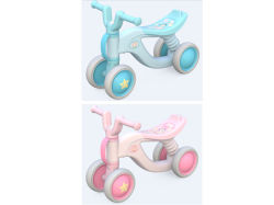 Aby équilibre LES ENFANTS DE VELO BICYCLETTE Toddler Walker manèges Kids bike Trike Toy 4 roues Thanksgiving Noël Cadeau H18830005