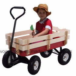 Il vagone esterno tutto il terreno che tira l'aria stanca lo strumento di giardino del capretto dei bambini