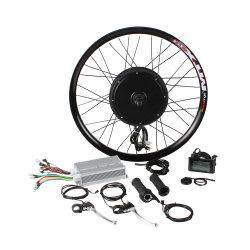 3000W 48V 60V 72V Бесщеточный двигатель ступицы прямой электрический велосипед наборы для преобразования
