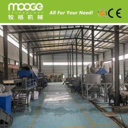 300-5000kg/h professionele de flessen verpletterende was van het afval Plastic HUISDIER recyclingsMachines