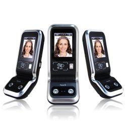 Sistema di controllo biometrico di accesso del fronte con le schede di RFID
