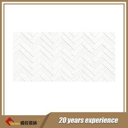白い台所および浴室(63002)のカラーによって艶をかけられる壁のタイル